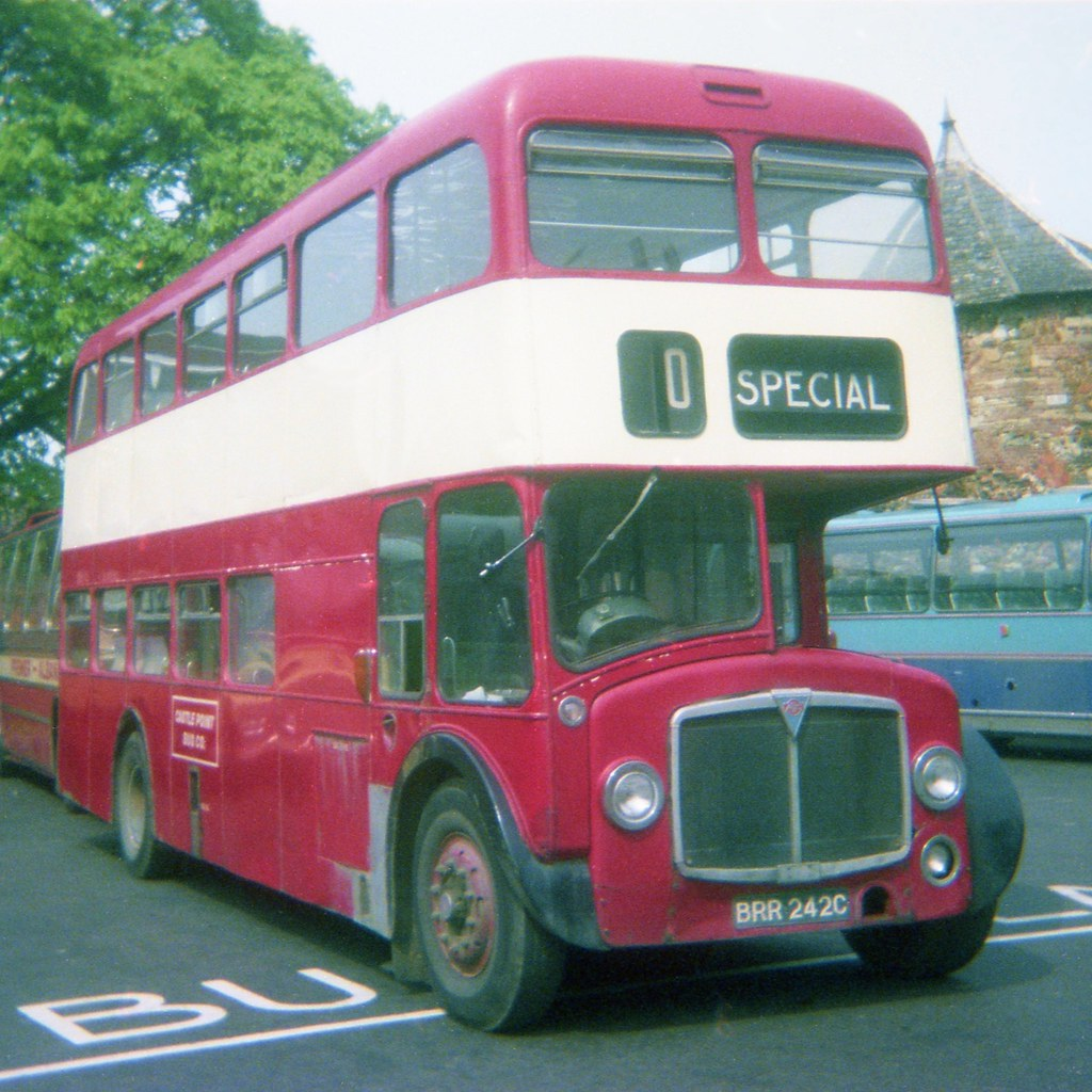 0763 19790512 Castle Point Benfleet Brr 242c Cwg43 Tags Nottingham Uk Bus