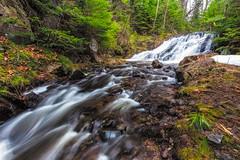 Arnold Mine Falls (Kevin Pihlaja) Tags: longexposure nature river outdoors waterfall spring michigan peaceful explore serene upperpeninsula coppercountry keweenaw jacobscreek keweenawpeninsula arnoldminefalls