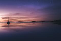 Dawn (unijaz) Tags: ocean light sky sun nature water suomi finland stars landscape dawn ship outdoor serene