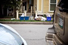 Curbside Composting - Portland, ME (garbagetogarden) Tags: food portland education maine soil waste sustainability composting curbsidecomposting garbagetogarden compostpickup