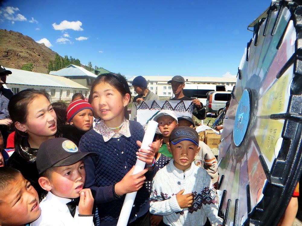 American Corner Caravan in Kyrgyzstan