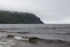 Old Woman Bay (ZensLens) Tags: camping lake fog landscape scenic superior coastal amethyst lakesuperior rugged ontarioparks