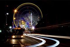 Luxembourg Schuberfouer (M&S Images) Tags: longexposure light bus night lumire streetphotography luxembourg bigwheel nuit granderoue longuepose photographiederue schuberfouer