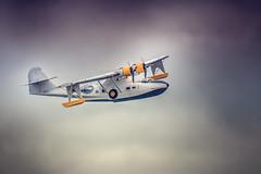 Consolidated PBY Catalina (Pixelicus) Tags: sky clouds plane airplane nikon air meeting nuage avion arien fertalais d700