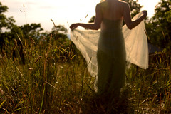 Tulle and sunshine (kate.burkholder) Tags: girl beautiful sunshine flow dress meadow twirl mysterious tulle