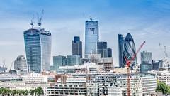 London's Shapes and Sizes (DobingDesign) Tags: london architecture cityscape riverside cityhall shapes citylife riverthames gherkin sizes walkietalkie cheesegrater londonassembly londonarchitecture iconicarchitecture iconicbuildings iconiclondon theleadenhallbuilding