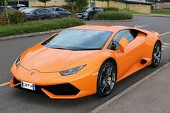 Lamborghini Huracan (R.K.C. Photography) Tags: england orange italian unitedkingdom supercar hertfordshire royston 2015 worldcars canoneos100d lamborghinihuracan g11ffh