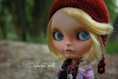 Lisas girl (Isa Mira) Tags: cute body frosty blonde frock blythe custom commission takara licca tomi sbl dolll oosk dafnery puppelina dafnerydolls