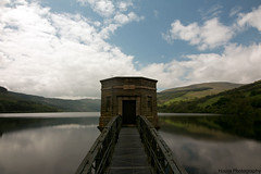 Talybont Reservoir Reflections ({House} Photography) Tags: sky lake mountains water wales clouds canon reflections south reservoir hills walkway brecon efs talybont 70d housephotography 1018mm timothyhouse neacons