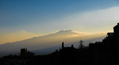Connected to Earth's heart (Paco CT) Tags: italy mountain tourism landscape volcano outdoor landmark ita taormina etna sicilia 2016 pacoct