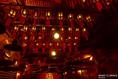 Red Room (WHATiC.SPACE) Tags: trip travel red temple fire hongkong asia pentax budda shrain
