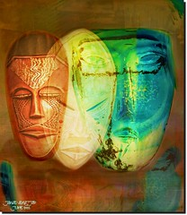 POEPLE HAS MORE THAN ONE FACE (jawadn_99) Tags: explore faces interrestingness people totum colors blue vivid art creative photography multicolors geometry stage shadow performance surreal yellow colours mlticolors green brown wood woden africa euorope acia mixture cheeting