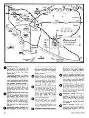 Vacationland Fall 1965 22 - Southern California map (Tom Simpson) Tags: vintage map disneyland disney 1960s anaheim vacationland 1965 vintagedisneyland vintagedisney