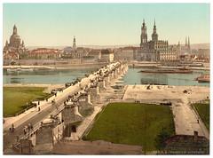 00938u (DenjaChe) Tags: dresden sachsen 1900 postcards 1900s postkarten ansichtskarten