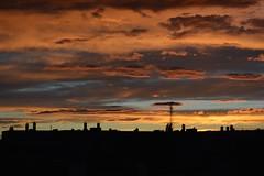 Sunset (Alexander Keplinger) Tags: vienna sunset rooftop nikon afterglow d5200