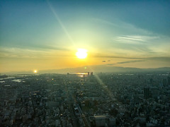 Osaka Sunset (shinichiro*) Tags:    jp 20160623img4749 2016 crazyshin appleiphone6plus osaka japan  june summer 27926574645 201606gettyuploadesp