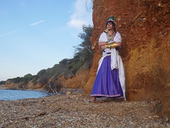 Shooting Sinbad - Magi, the Labyrinth of Magic - Giens - 2016-06-03- P1410818 (styeb) Tags: shooting sinbad magithelabyrinthofmagic giens presquile 2016 juin 03 mer tombee nuit madrague reserve naturelle