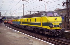 NMBS 5504+5515 Liège Guillemins (Davy Beumer) Tags: nmbs l36 l42 l43 hld55
