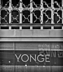 Yonge (GBaker63) Tags: bw toronto ttc stop transit yongestreet streetcar stclairavenuewest canonpowershots95