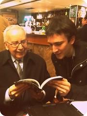 Con Pablo García Baena