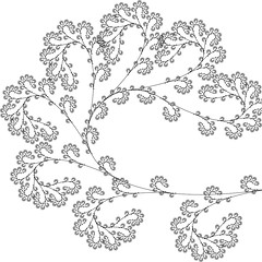 rg24 / Elijah Porter (_ElijahPorter) Tags: plant tree architecture design leaf pattern drawing line growth generative fractal recursive vector tiling elijahporter