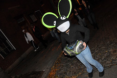Salem MA - Halloween 2011 (IronHide) Tags: holiday halloween ma costume cosplay witch trickortreat massachusetts ghost haunted salem witches mass scare haunt ghoul october31 allhallowseve 2011 allsaintseve dedmau5