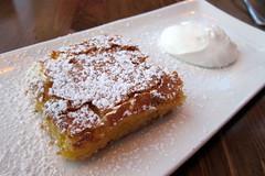 Jersey City: Thirty Acres -  Kevin's Mom's Lemon Bars (wallyg) Tags: dessert restaurant newjersey jerseycity nj whippedcream foodporn jc eater lemonbar hudsoncounty lemonbars thirtyacres kevinsmomslemonbars