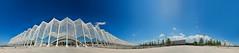 Olympic Athletic Center of Athens- OAKA panorama. (amfipolos) Tags: panorama photoshop 360 panoramic olympics sonycybershot polarcoordinates oaka ελλάδα littleplanet polarpanorama αθήνα stereographicprojection ολυμπιακόστάδιο olympicathleticcenterofathens