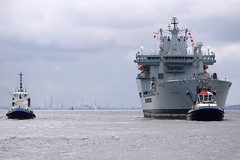 RFA Wave Knight (Andy Tee) Tags: liverpool river military ships royal wave birkenhead maritime knight fleet laird mersey tanker cammell replenishment rfa auxiliary refit