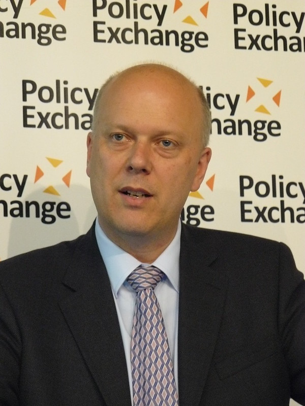 Minister for Employment Rt Hon Chris Grayling ...
