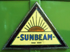 105 Sunbeam Badge (robertknight16) Tags: british badges sumbeam