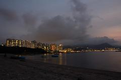 DSC_4066 (TonyBSD) Tags: sunset hk beach girl hongkong evening nikon doll bjd dslr dd dollfie volks  saki   yotsuba   maonshan     dollfiedream mashiro twintail    nendoroid  danboard     d7000      sacchu   hoihoisanichigeki