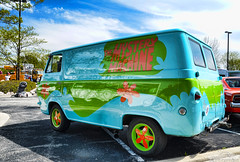 The Mystery Machine (Chad Horwedel) Tags: classic ford illinois van themysterymachine econoline bolingbrook streetmachine