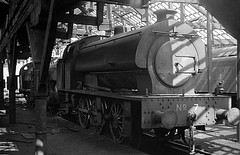 Durham Philadelphia 7 in shed 2nd June 1968 (loose_grip_99) Tags: industry philadelphia train blackwhite mine industrial tank durham noiretblanc shed engine 7 trains steam mining depot locomotive railways mpd ncb coalboard saddletank 3820 hunslet uksteam 060st gassteam lambtonhettonjoicey