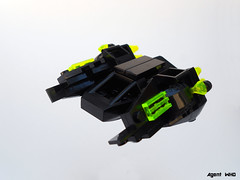 Scorpion Starfighter (Agent WHO) Tags: black stars crystals space scorpions frogs starfighter frogspace
