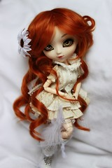 Niob (Konato) Tags: red eyes acrylic queen redhead wig pullip lq lunatic custo dashka niob konato