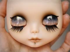 Zeppelin (G.Baby Dolls) Tags: doll factory piercing translucent lip blythe custom gbaby