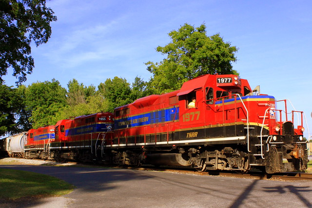 Tennessee Southern Railroad Locomotive