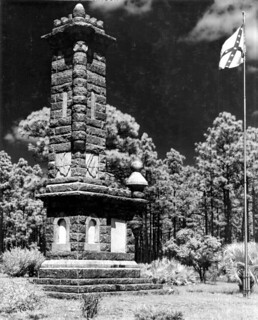 Olustee Battlefield State Monument. Do note the flag in the upper right-hand corner of the picture., From ImagesAttr