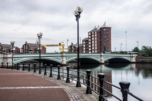 Belfast: Albert Bridge
