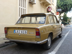 british leyland rear (seanofselby) Tags: car malta british leyland