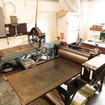 "Etching press! <a style=""margin-left:10px; font-size:0.8em;"" href=""http://www.flickr.com/photos/7331163@N05/7207729136/"" target=""_blank"">@flickr</a>"