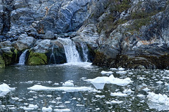 Cold Stream (Csaba Desvari) Tags: blue cold nature beauty alaska canon high wideangle wonderland discovery montain reflextion tracyarm icefield