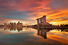 epic return (Jazpar) Tags: longexposure sunrise singapore esplanade mbs goldenhours marinabaysands epiclight