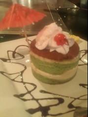 Green Tea Tiramisu @ KOBE Japanese Steak House & Sushi Bar (starlighthill08) Tags: greenteatiramisu foodspotting kobejapanesesteakhousesushibar foodspotting:place=205061 foodspotting:review=1746975