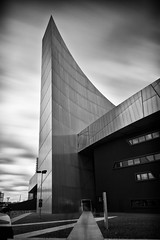 337|365 (PeterChinnock) Tags: bw museum architecture project manchester war long exposure day time daniel north imperial 365 libeskind salford quays 337 nd110 peterchinnock