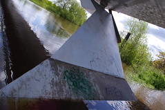 Hanging Landscape (Ravensthorpe) Tags: york water bridges rivers ouse concepts