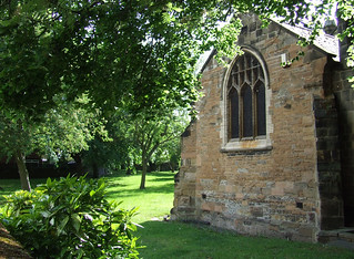 The Lenton Priory Church's ancient Chancel and part of its churchyard .   [ Postal address : Gregory Street , Lenton,  Nottingham,  NG7 2NW ]