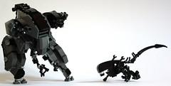 Jericho Mk II (✠Andreas) Tags: lego alien jericho mecha mech legomecha legomech legoalien legocombatmech bipedmech bipedthinktank