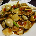 "Clams with Lemongrass and Chili <a style=""margin-left:10px; font-size:0.8em;"" href=""http://www.flickr.com/photos/14315427@N00/7268068426/"" target=""_blank"">@flickr</a>"